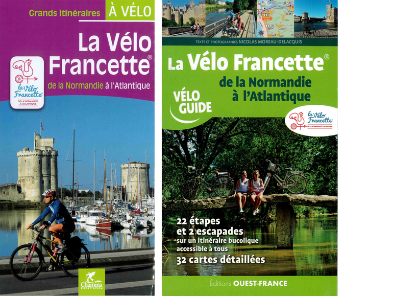 Cycle guide La Vélo Francette®, from Normandy to the Atlantic (in French)