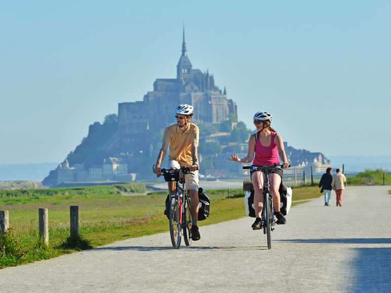 La Véloscénie, from Paris to the Mont-Saint-Michel by bike